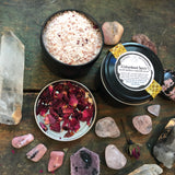 Unburdened Spirit // Rose & Hawthorn Ritual Bath Potion
