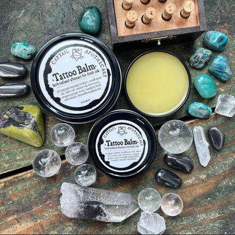 Tattoo Balm // Herb-infused Aftercare