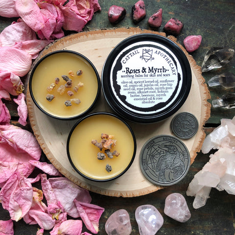 Roses & Myrrh // Soothing Skin and Scar Balm
