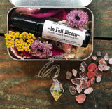 In Full Bloom // Oil Roller & Pendent