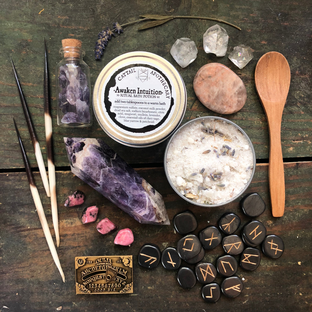 Awaken Intuition // Ritual Bath Potion