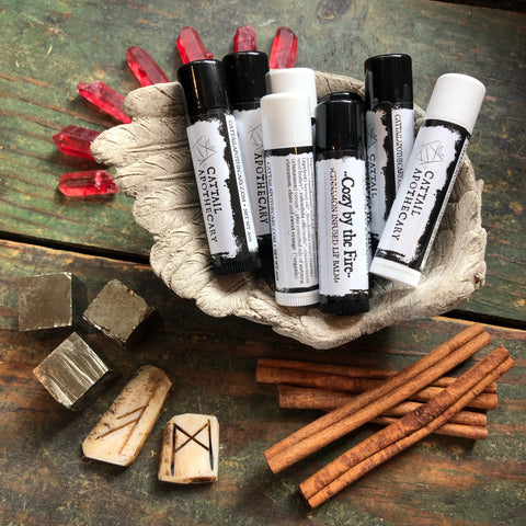 Cozy by the Fire // Cinnamon-Infused Lip Balm