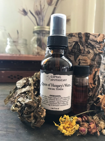 Queen of Hungary's Water // Herbal Face Toner Mist