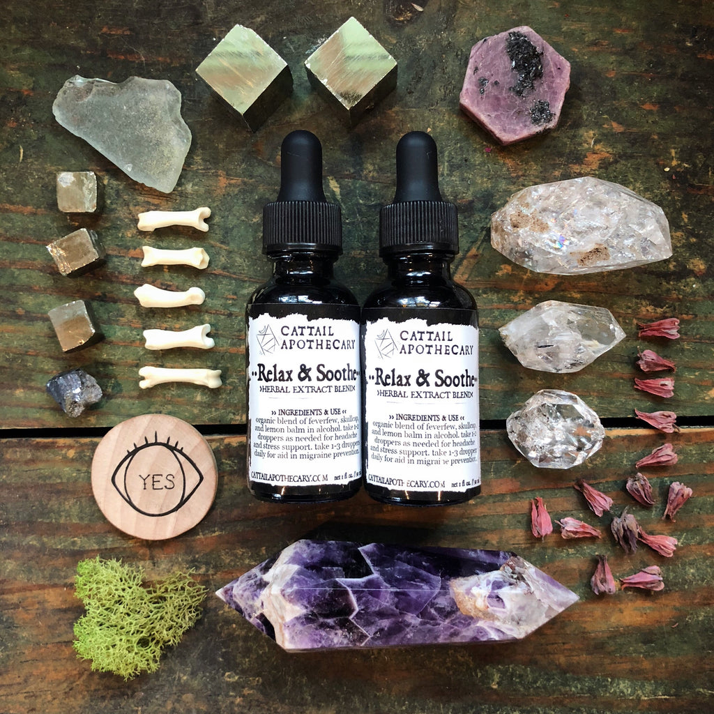 Relax & Soothe // Headache and Anxiety Support