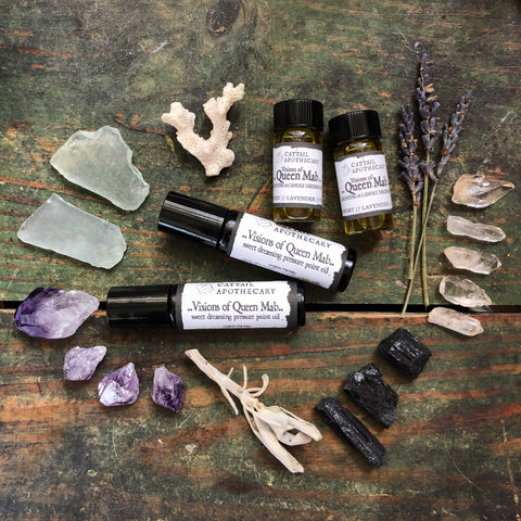 Visions of Queen Mab // Calm and Lucid Sleep Oil