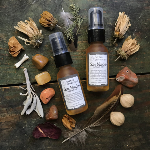 Sore Muscles // St John's Wort Massage & Body Oil
