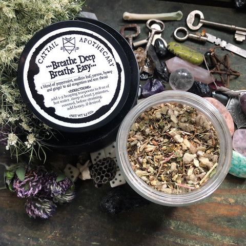 Breathe Deep, Breathe Easy // Loose Leaf Herbal Tea Blend