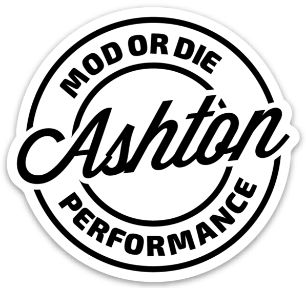 Ashton Performance Stickers (2 Pack) - Mod or Die