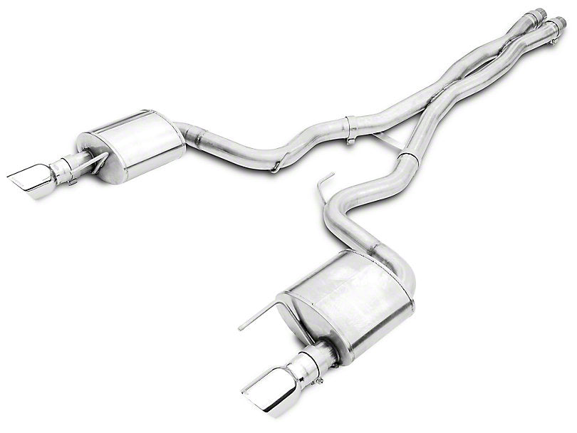 Corsa Xtreme Cat-Back Exhaust Polished Tips (15-18 GT Coupe)