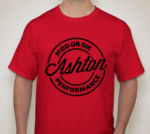 Ashton Performance T-Shirt (Red)