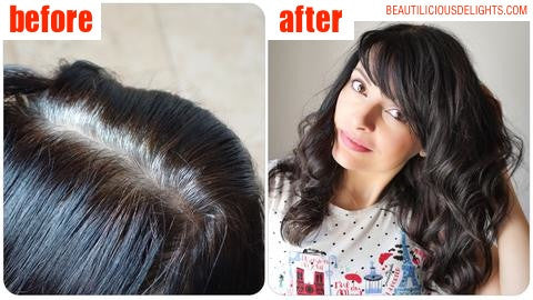 Does Brown Henna EXIST? How to mix henna to dye your grey hair brown without any hints of red!