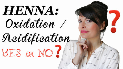 Henna Application Preparation Oxidation Acidification YES NO