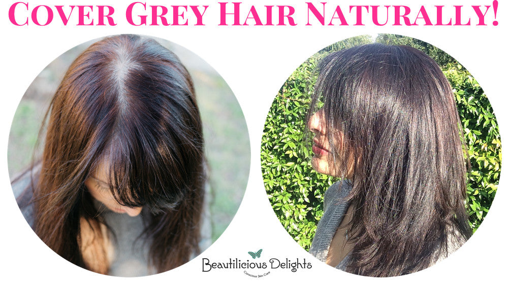 Dye Your Grey Hair Naturally Using Henna Herbal Hair Colors
