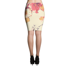 Wild Flower Pencil Skirt
