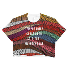 Spiritual Maintenance Boho Crop Top