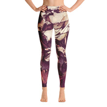 Vintage Floral Yoga Leggings