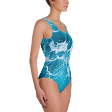 Blue Ocean Floor One-Piece Swimsuit