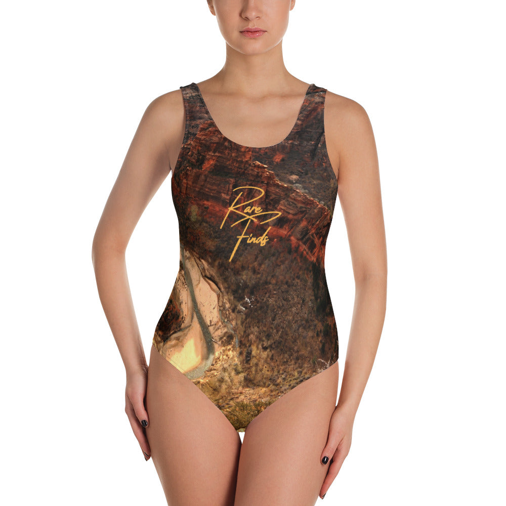 Zion Desert One-Piece Swimsuit