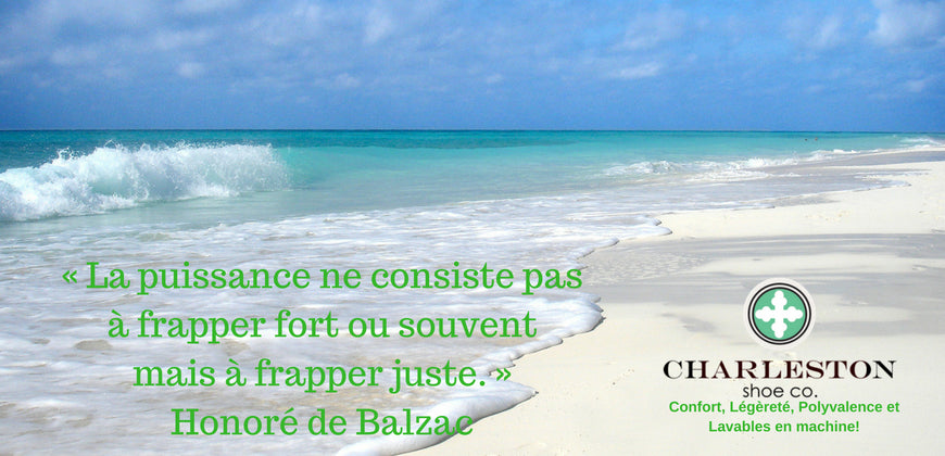 Relax on the beach .. Discover what Power means for Honore de Balzac
