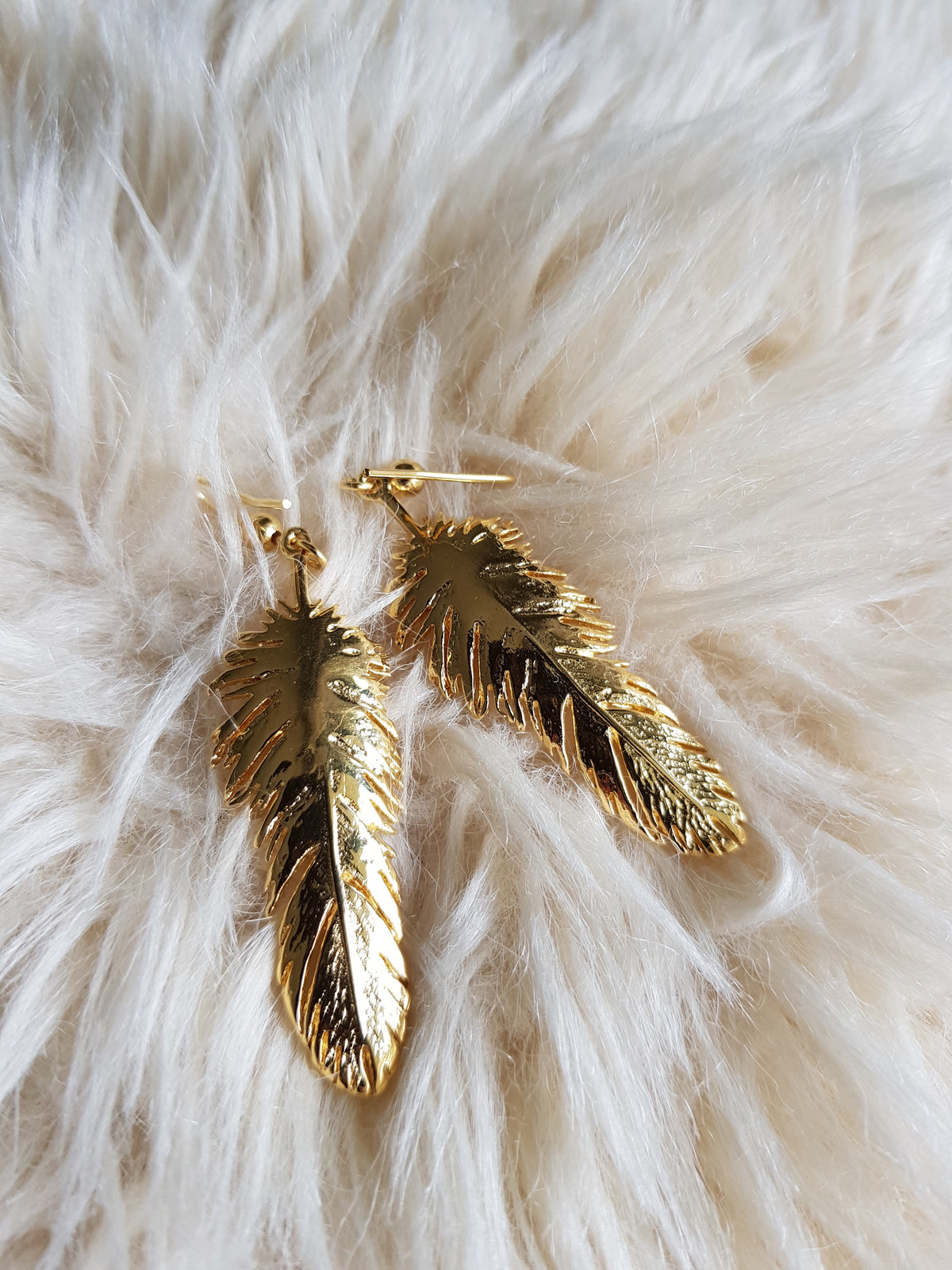 Kitana Feather Earrings