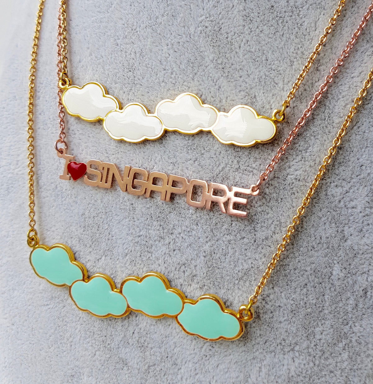 Cloud 4 Necklace