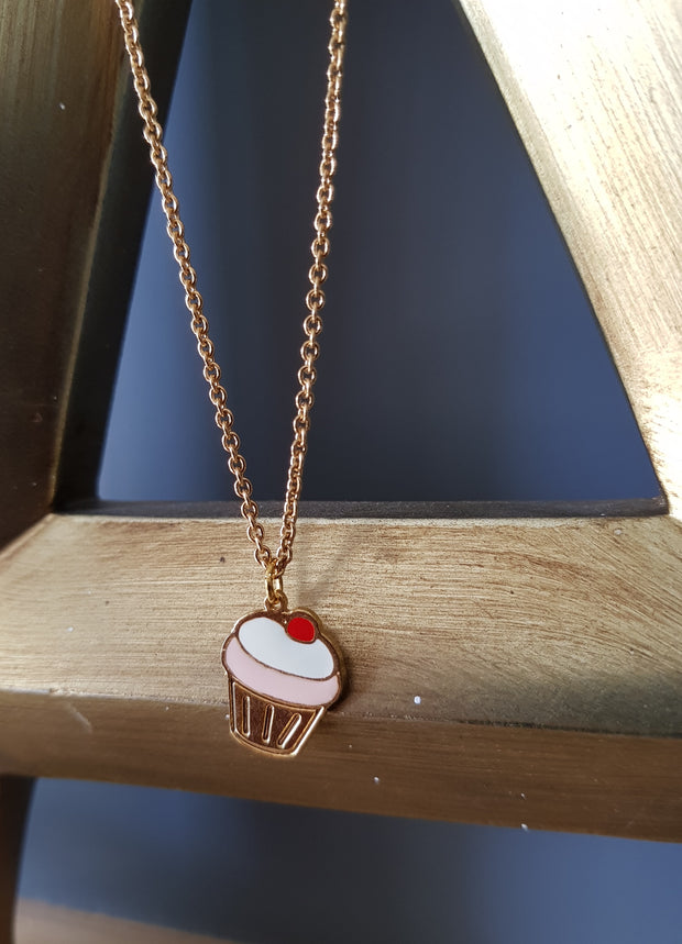 (4th Restock) Sonya Cupcake Necklace