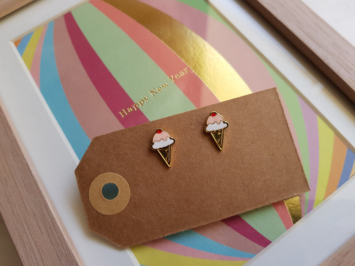 (2nd Restock) Ice Cream Earrings
