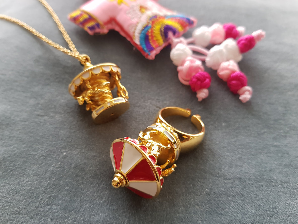 Merry-Go-Round Necklace (20% off)