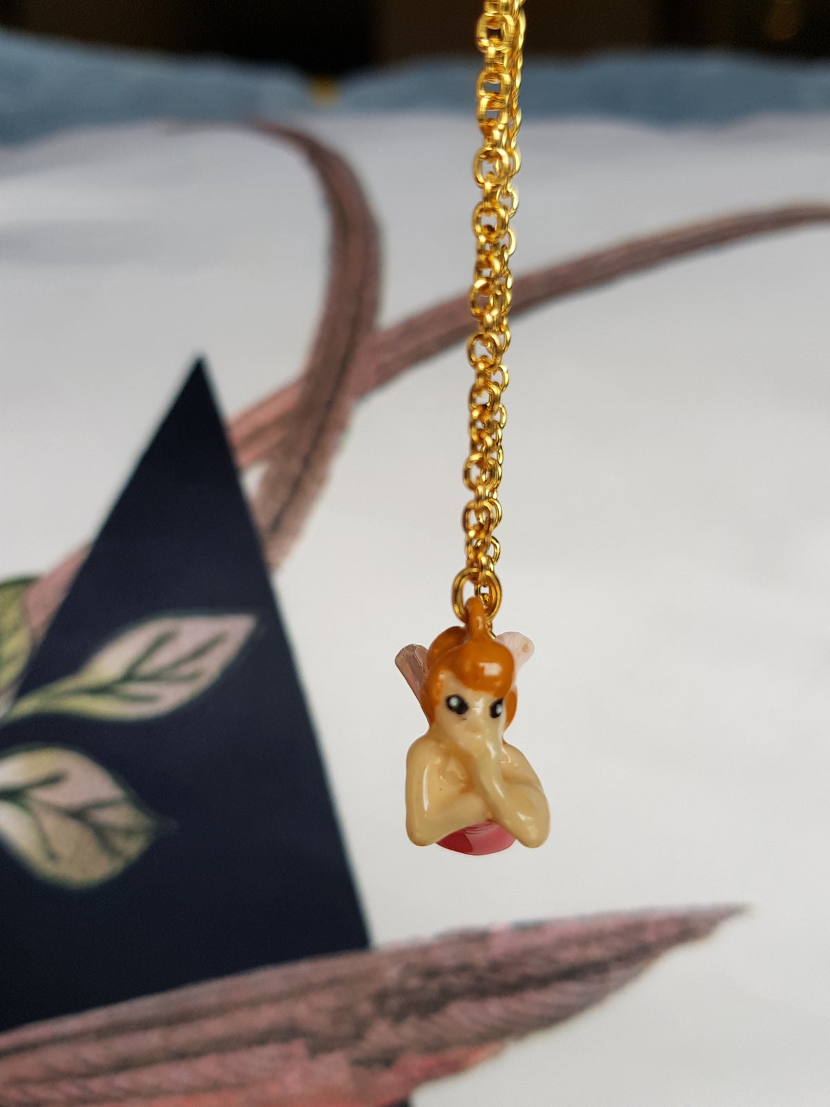 My Fairy 3D Brass Necklace (for both adult&kid)