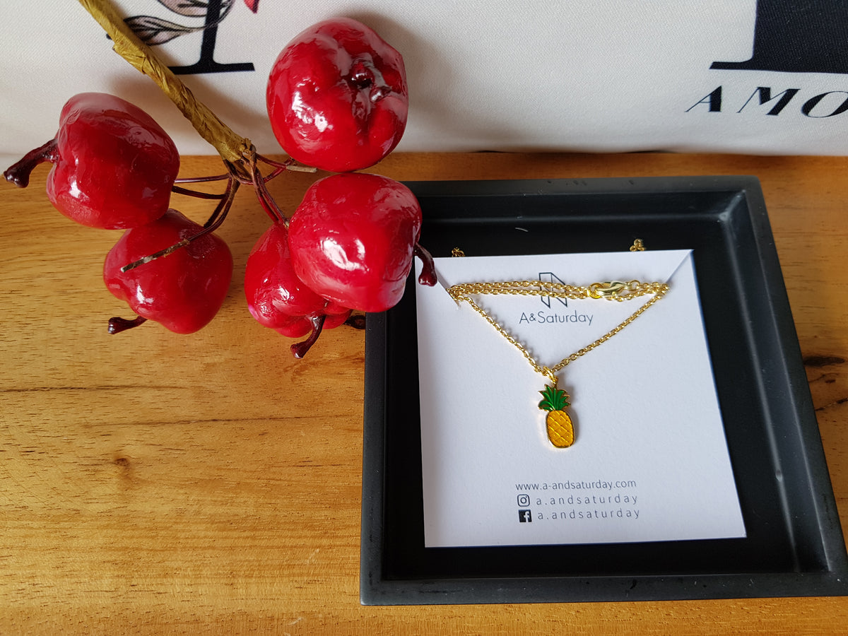 Nuna Pineapple Necklace  (for both adult&kid)