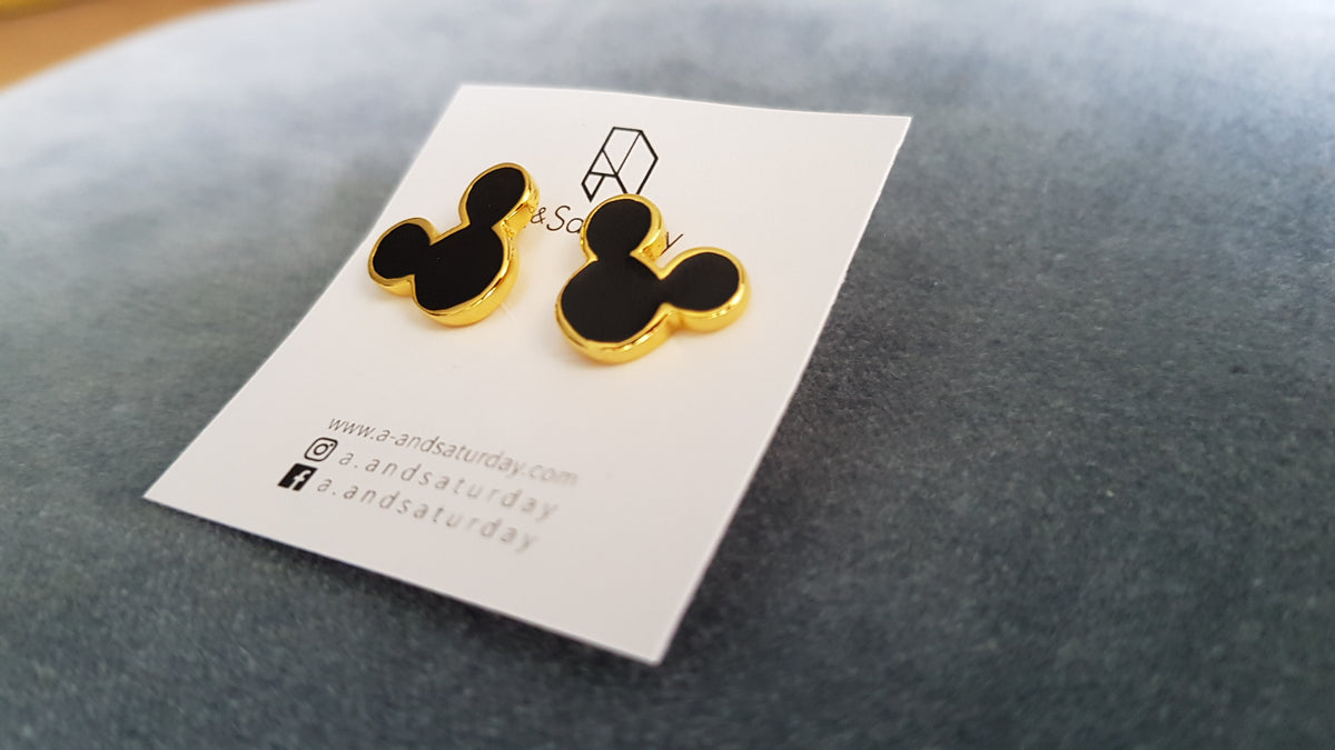 Jake Mickey Mouse Earrings