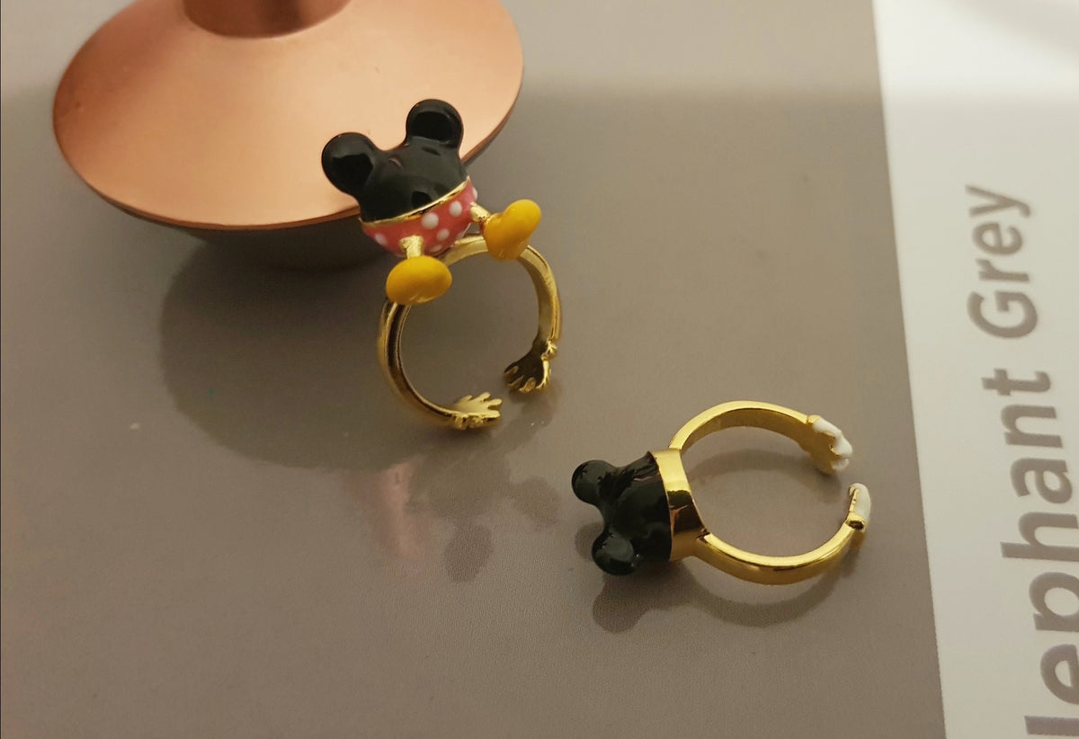 Bonjour Minnie Mouse 3D Ring