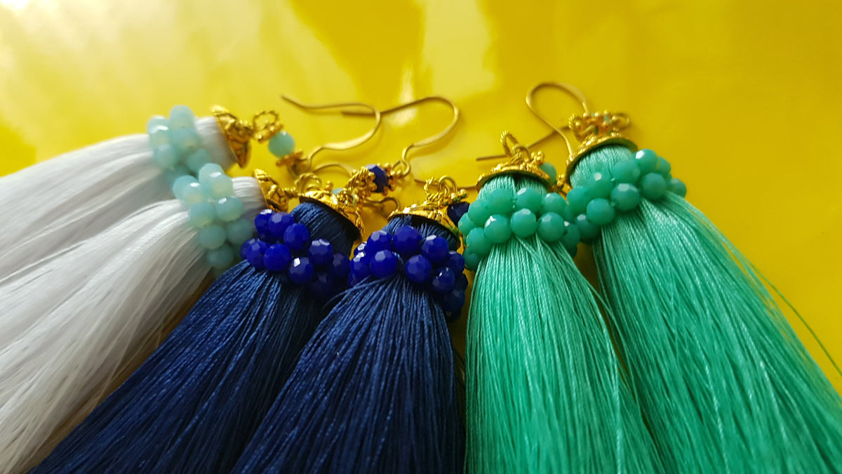 Pui Tassel Earrings
