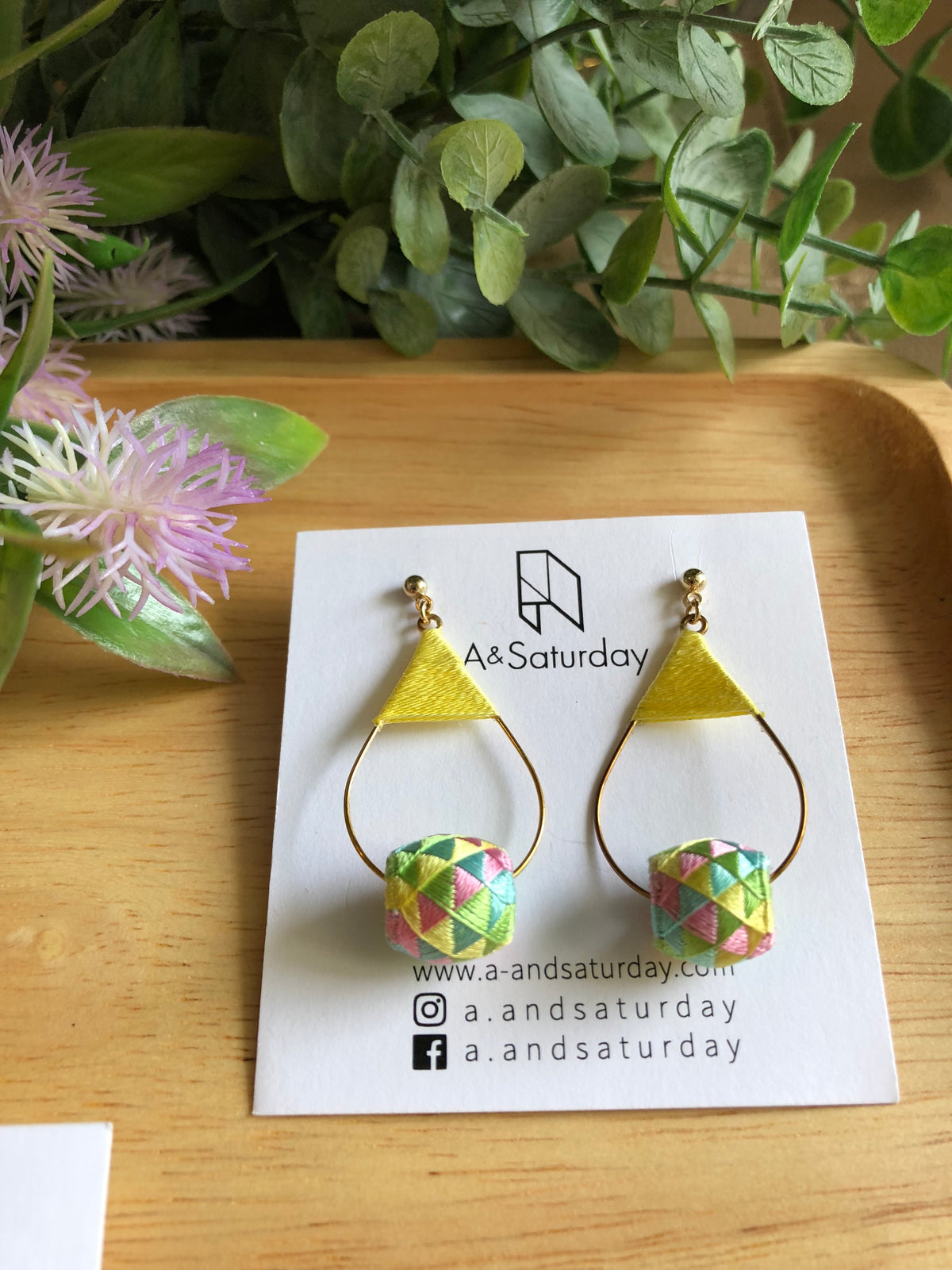 Edo Earrings Collection (Mixed Pastel)