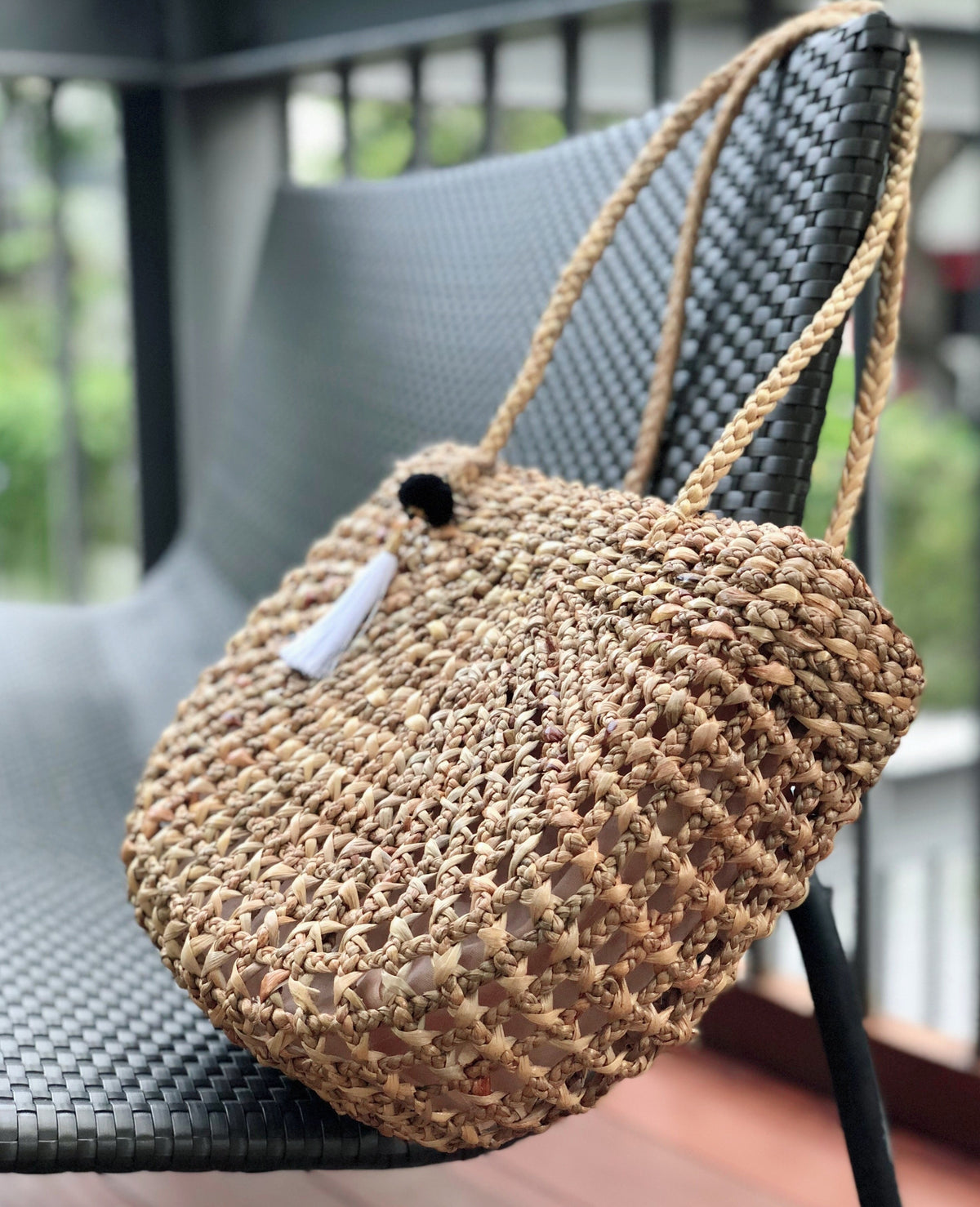 Annabelle Straw Bag (Ready Stock Item)