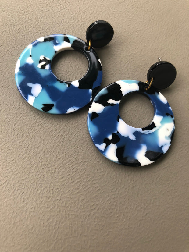 Cindy Round Earrings (15%off)