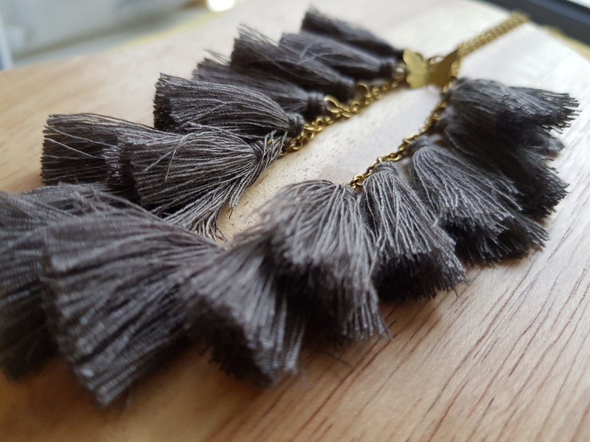 Eliya Tassel Necklace