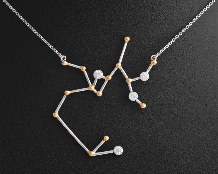[SAGITTARIUS: Nov 22-Dec 21] Nalin Zodiac Necklace