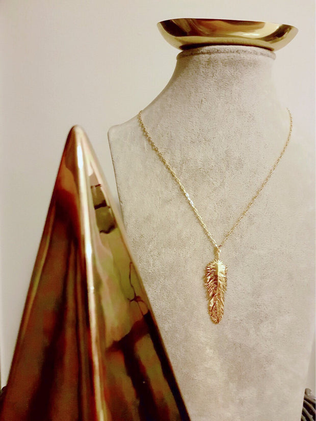 Kitana Gold Leave Necklace