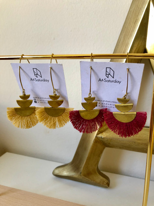 Gana Tassel Earrings