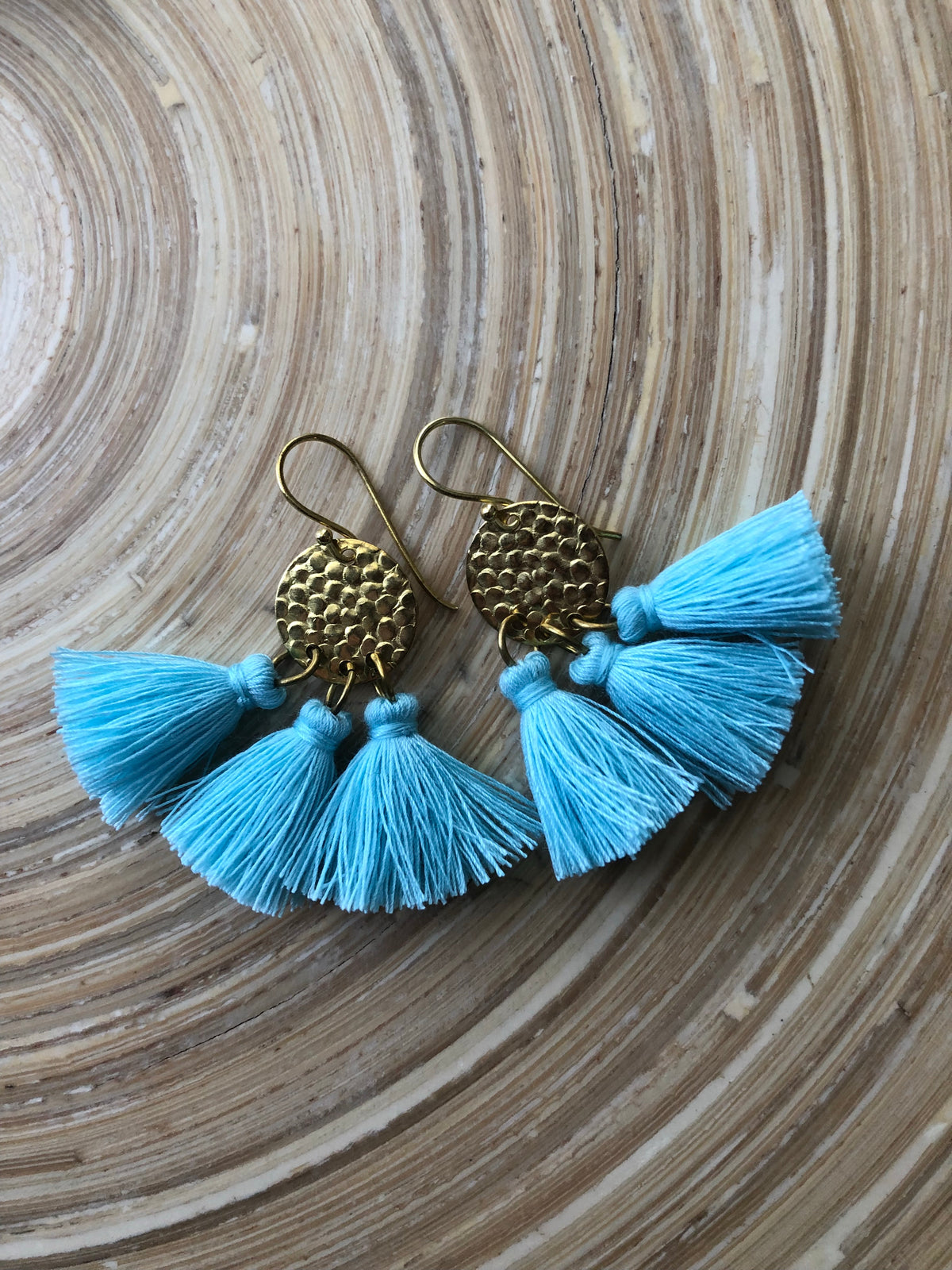 Fannie Tassel Earrings