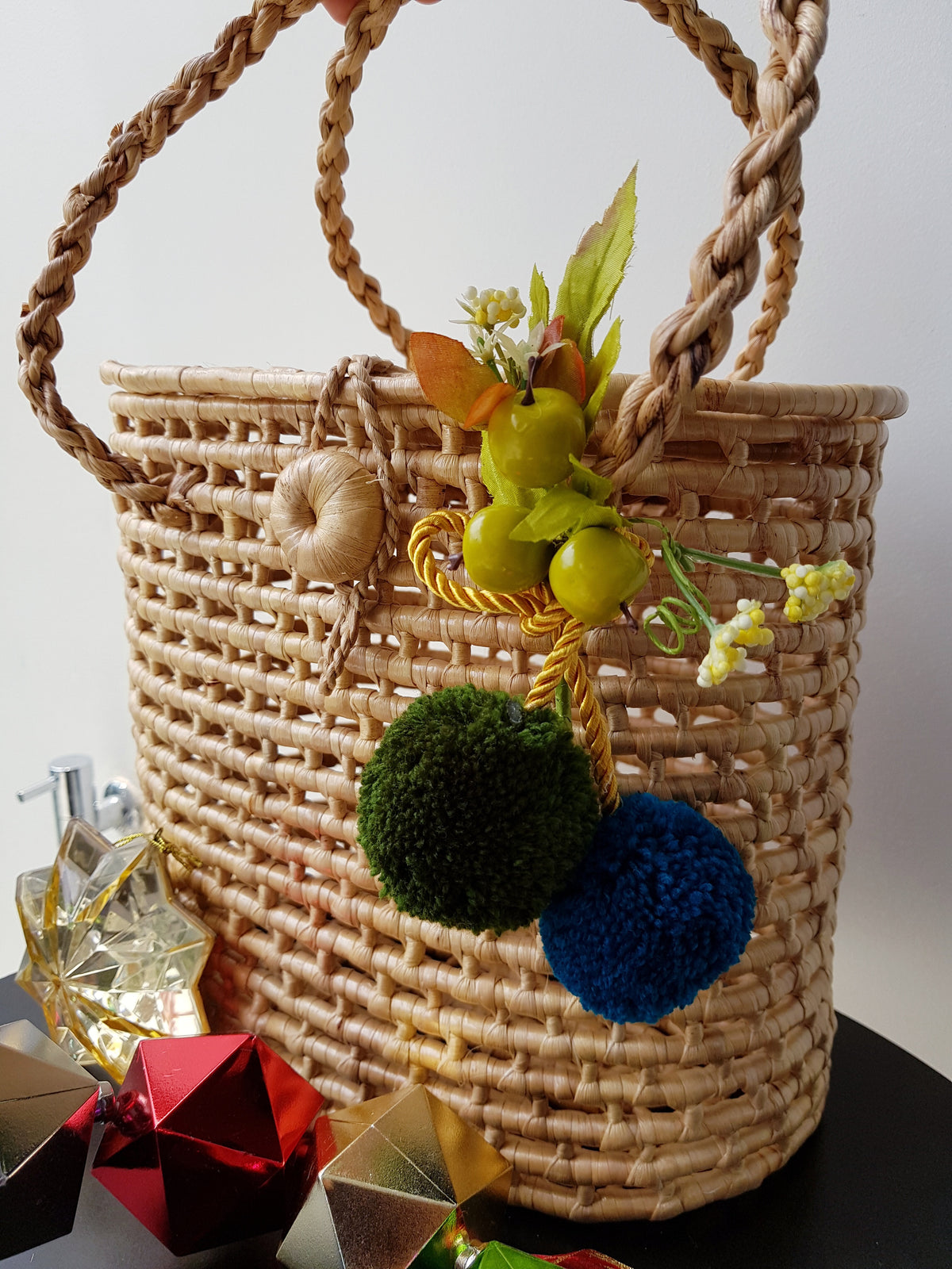 Wira Shopping/Picnic Basket