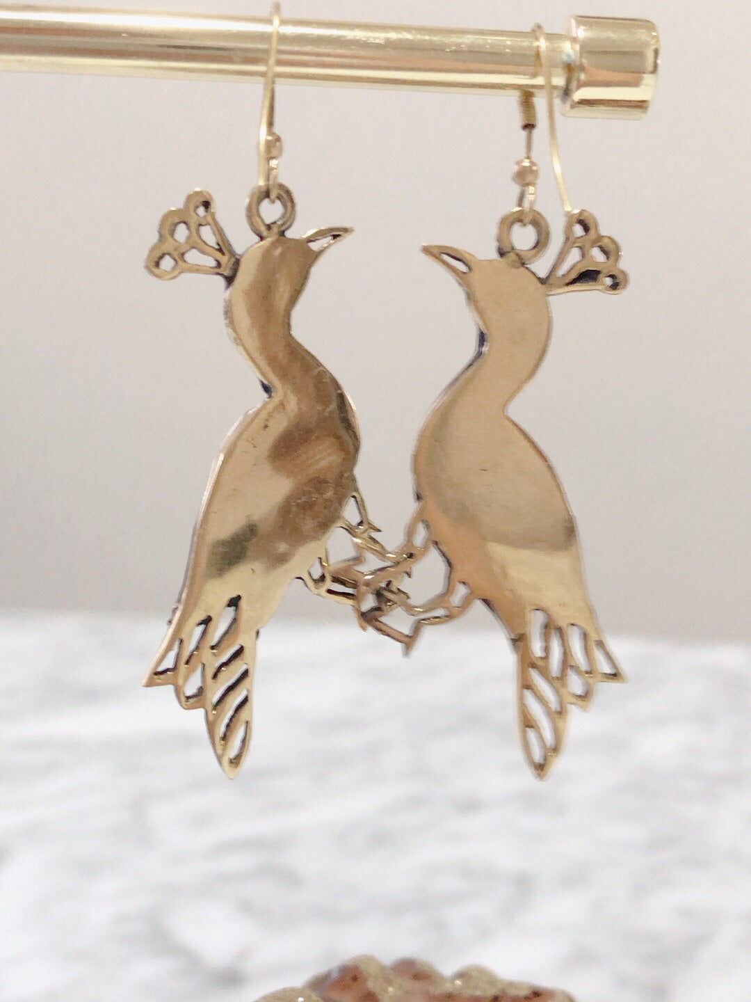 Wita Peacock Earrings (10% OFF)