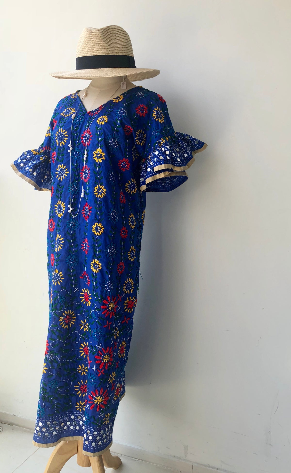 (Restock) Bellari Hand Embroidered Dress