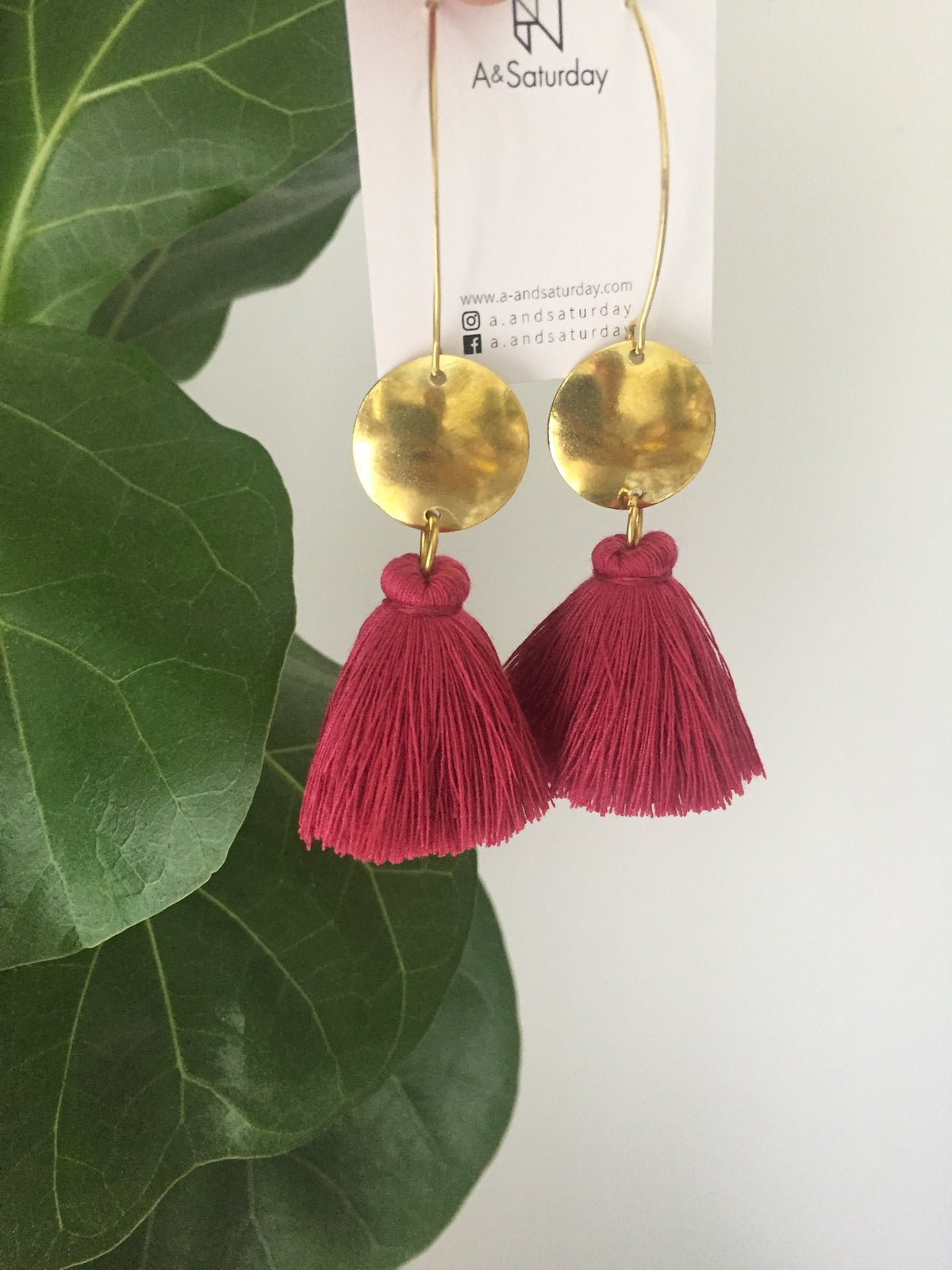 (3rd Restock) Nara Earrings-Pretty Pink