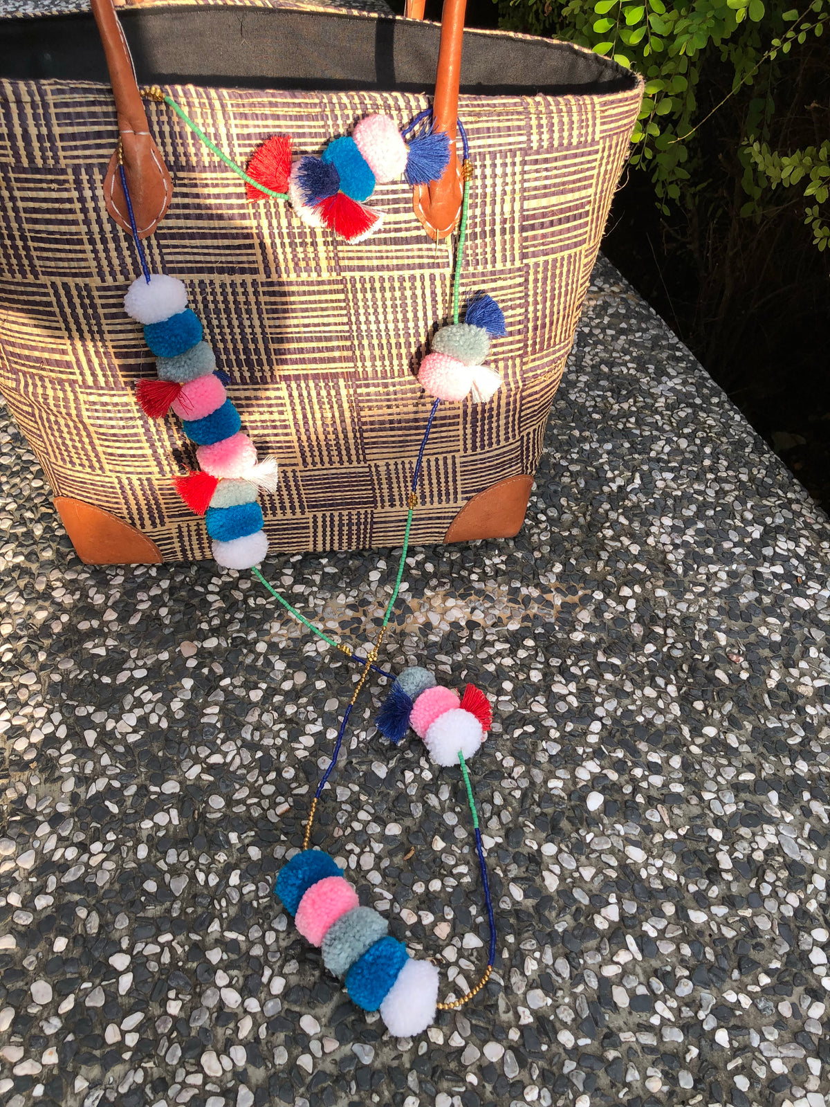 Follie Pom Pom Necklace
