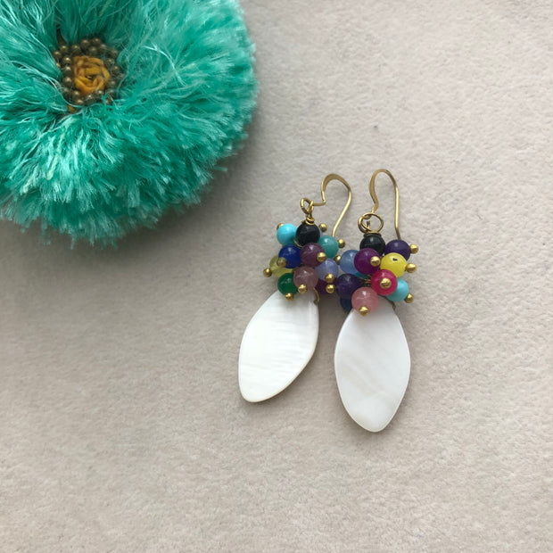 Aura Shell Earrings