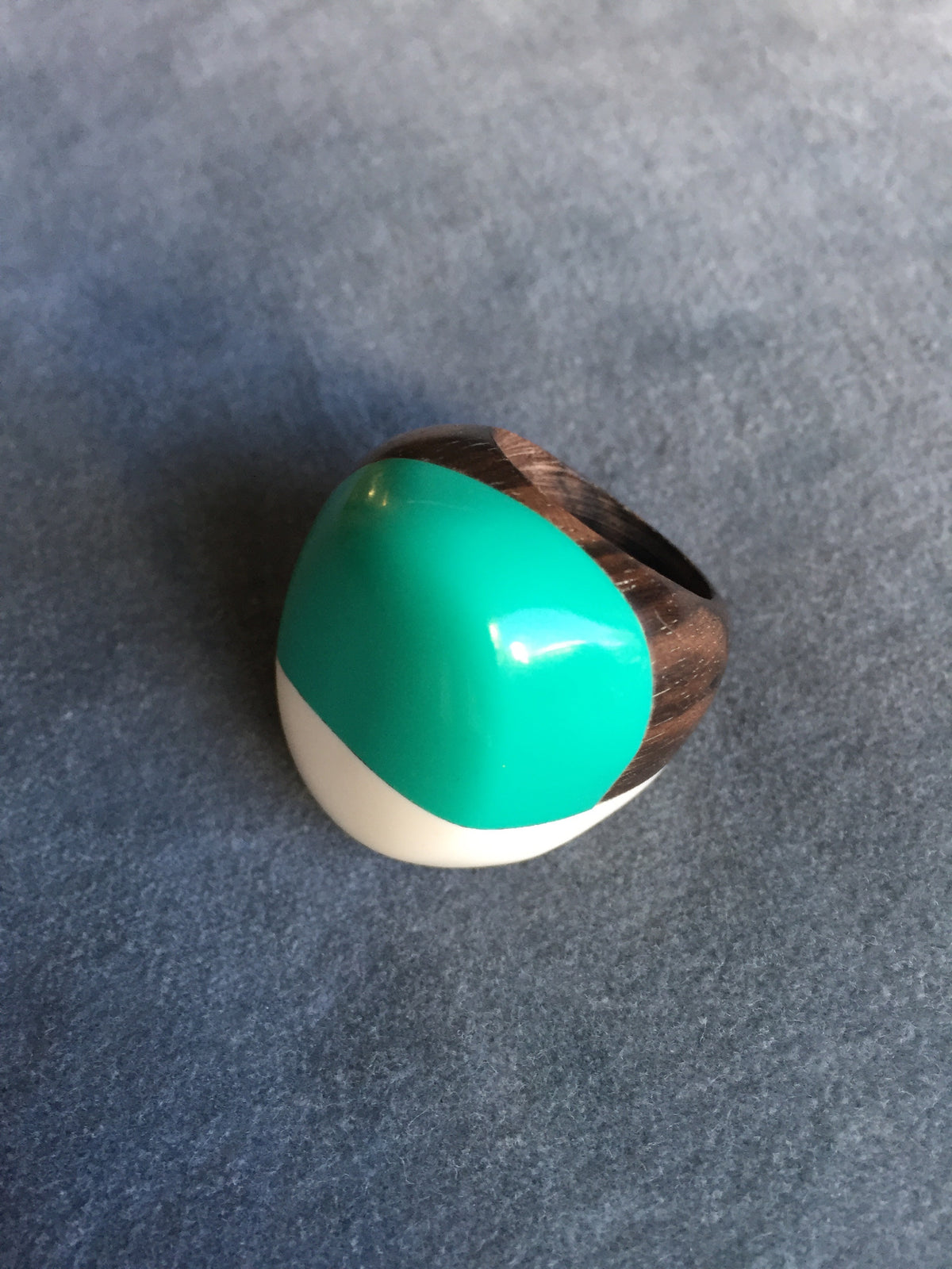 Bubble Gum Wood Ring
