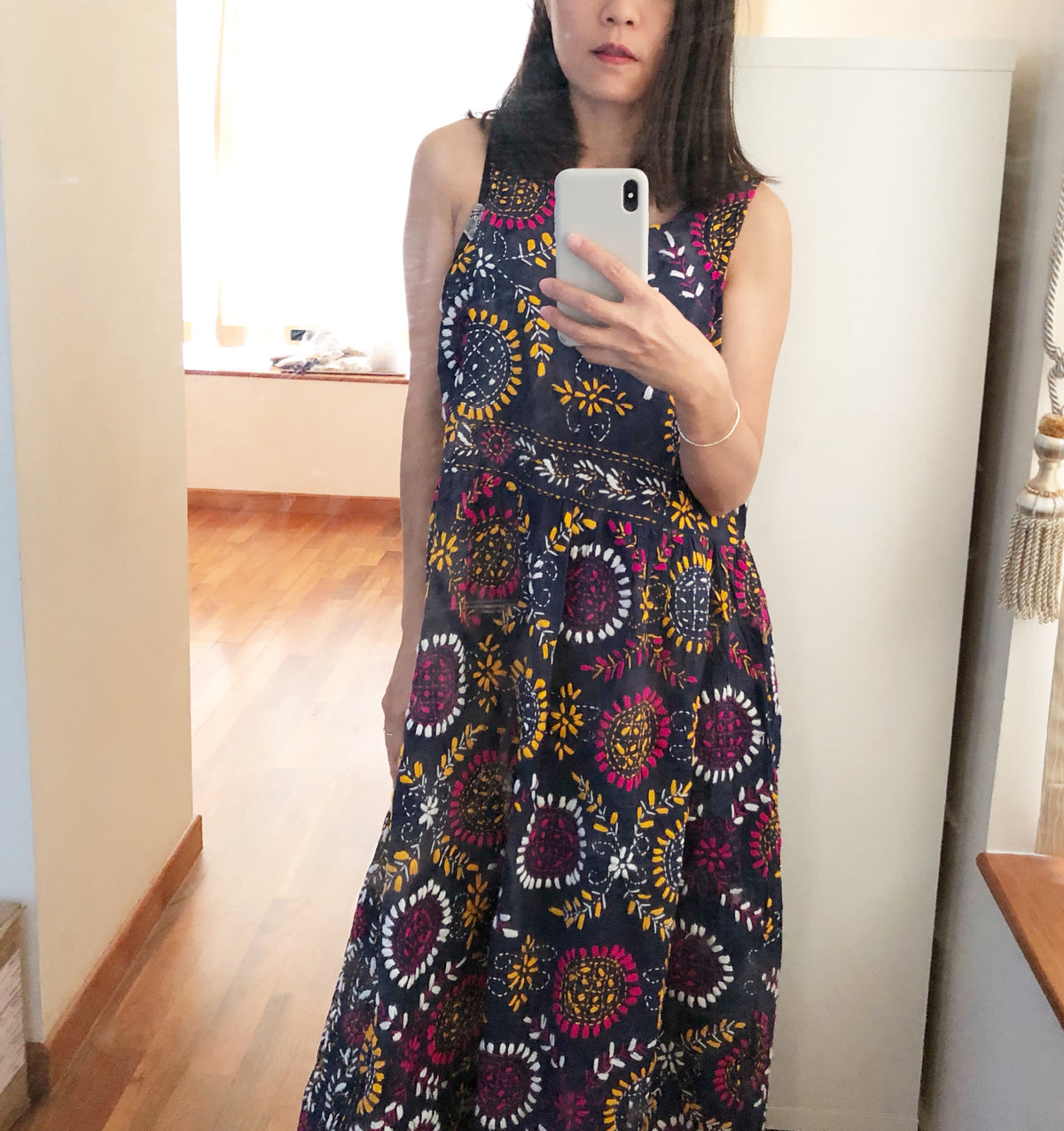 Lolla Hand Embroidered Sleeveless Dress (15%OFF)