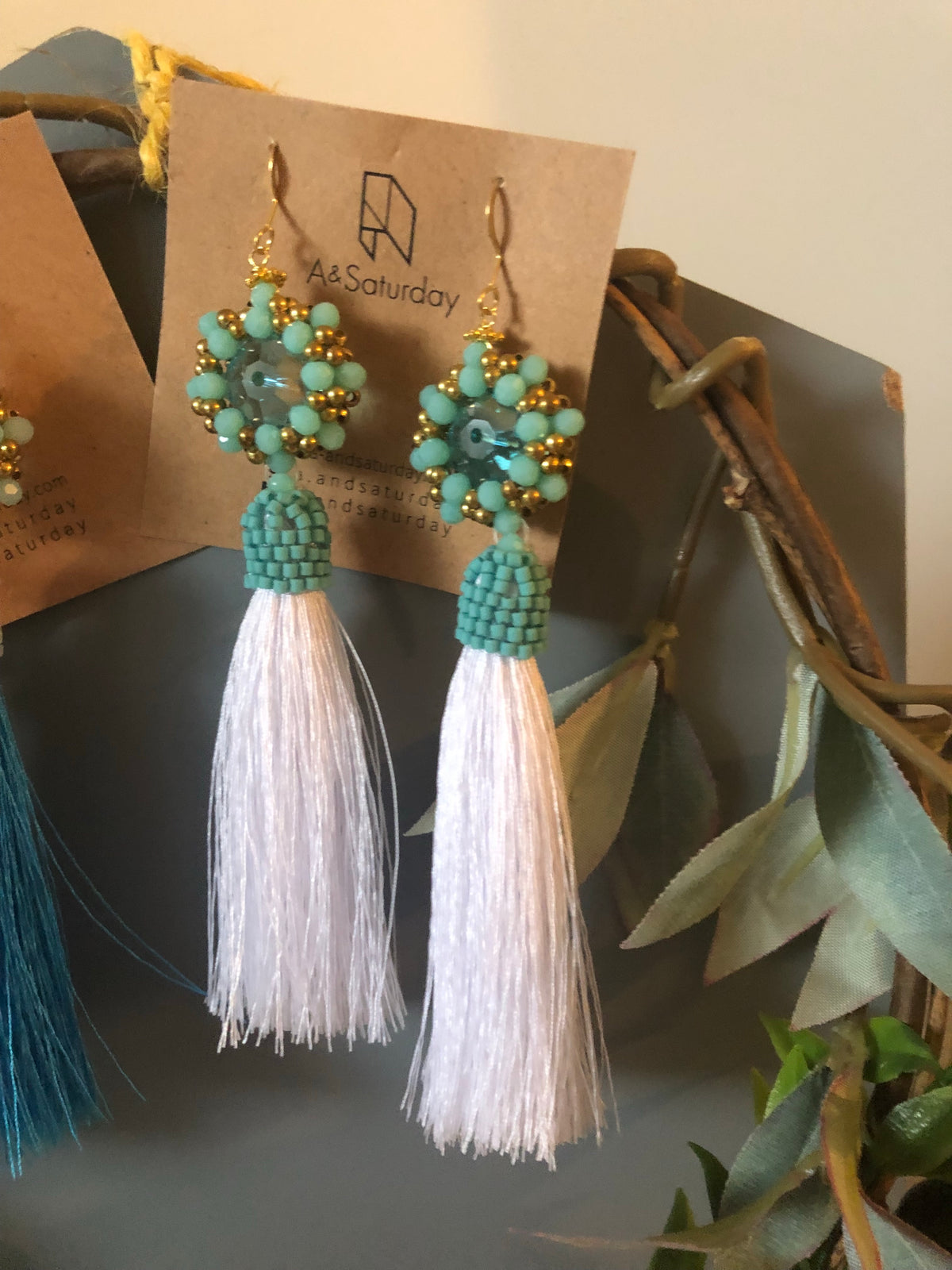 Breena Tassel Earrings